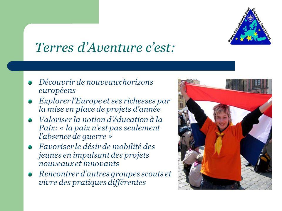 1 continent, des milliers de scouts et 4 possibilités: Euro-création Euro - exploration Euro-camp Euro-rassemblement