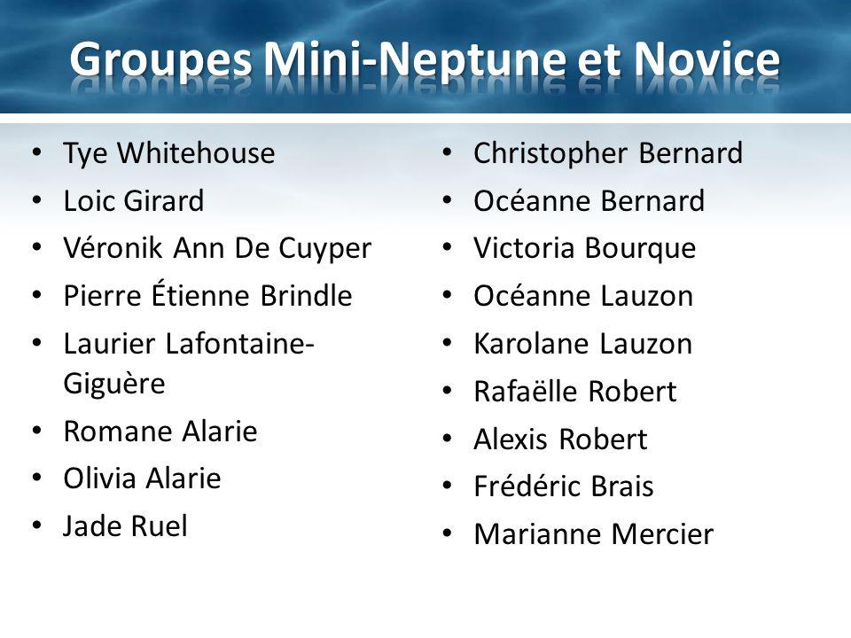 Nominés: – Thomas lafontaine-Giguère – Rosalie Davidson