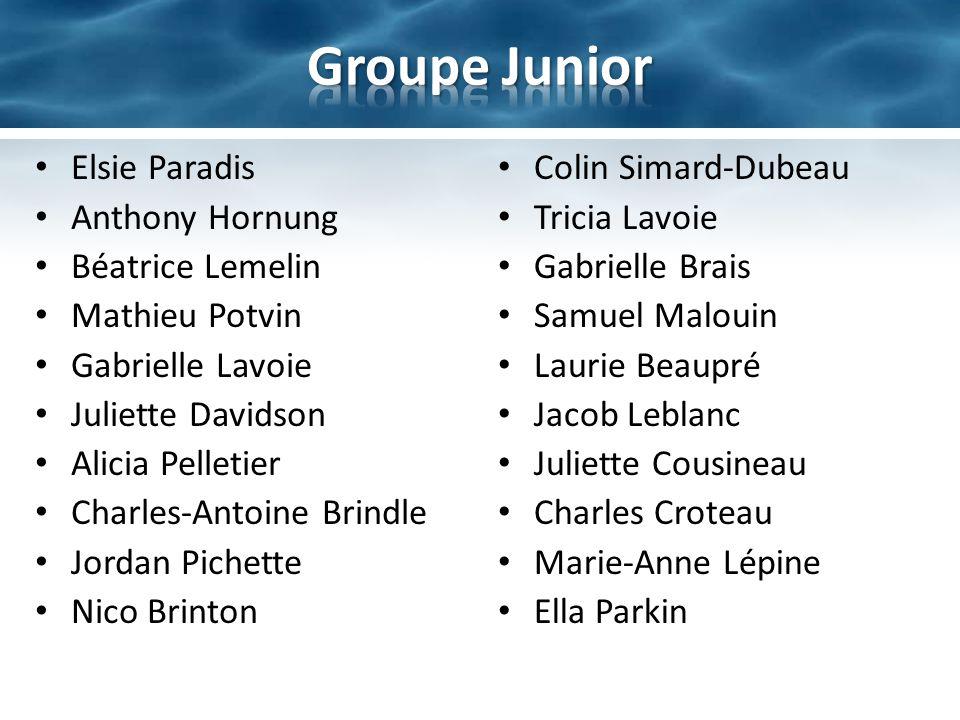 Nominés: – Juliette Davidson – Jacob Leblanc – Béatrice Lemelin