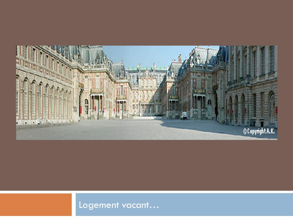 Logement vacant…