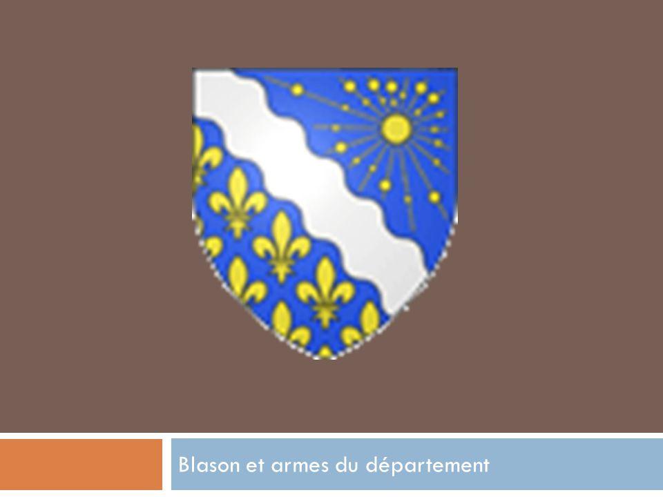 Blason et armes du département