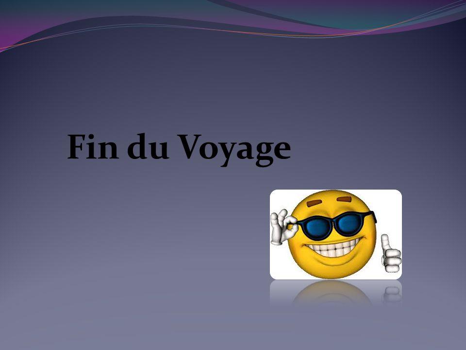 Fin du Voyage