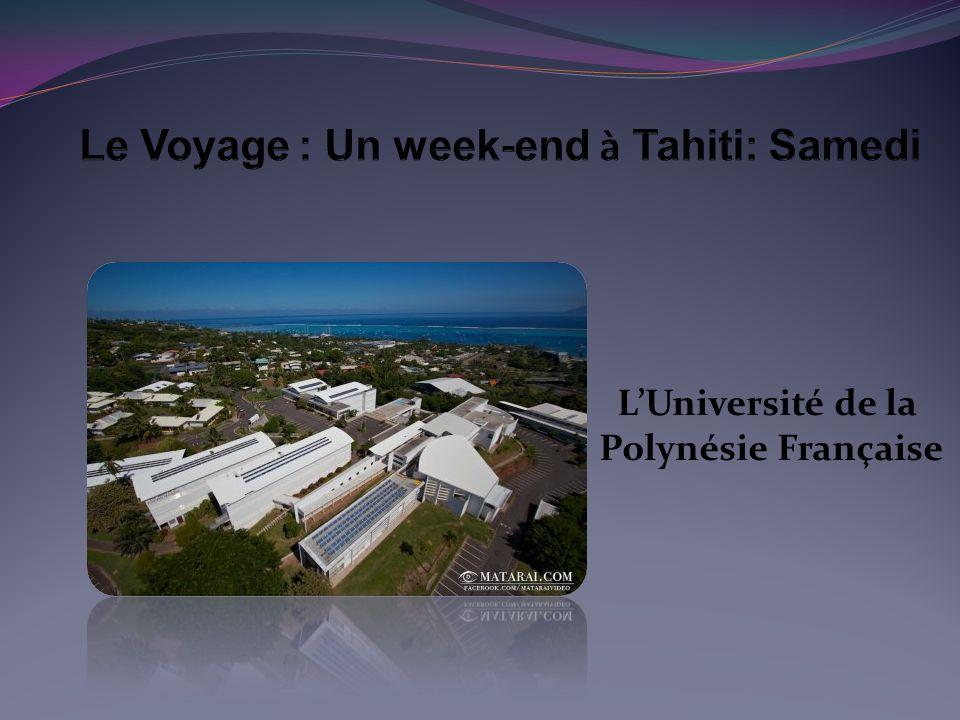 L'Université de la Polynésie Française