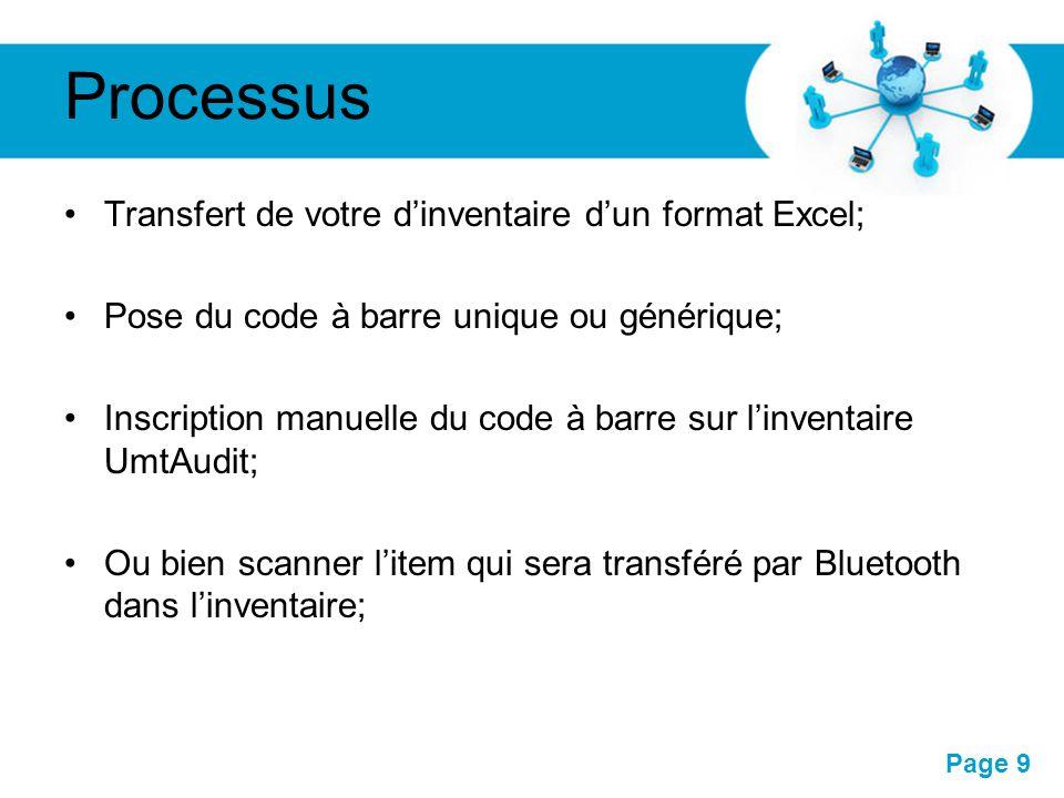 Pour plus de modèles : Modèles Powerpoint PPT gratuitsModèles Powerpoint PPT gratuits Page 9 Processus Transfert de votre d'inventaire d'un format Exc