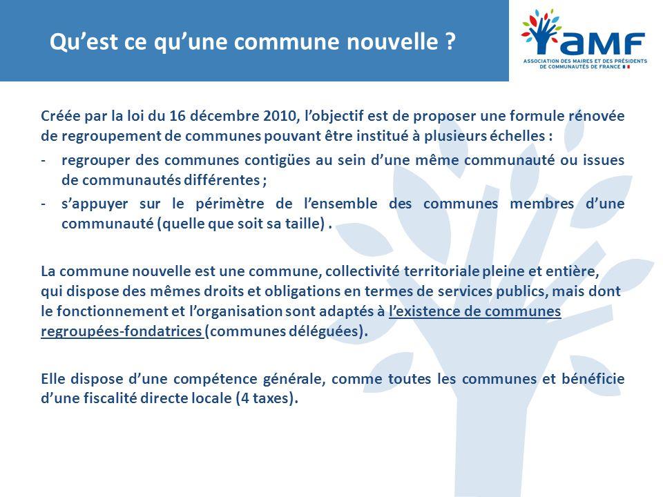 Les ressources de la commune déléguée Chaque année, le conseil de la commune nouvelle arrête les modalités de répartition des sommes destinées aux « dotations » des communes déléguées (lorsqu'elles existent).
