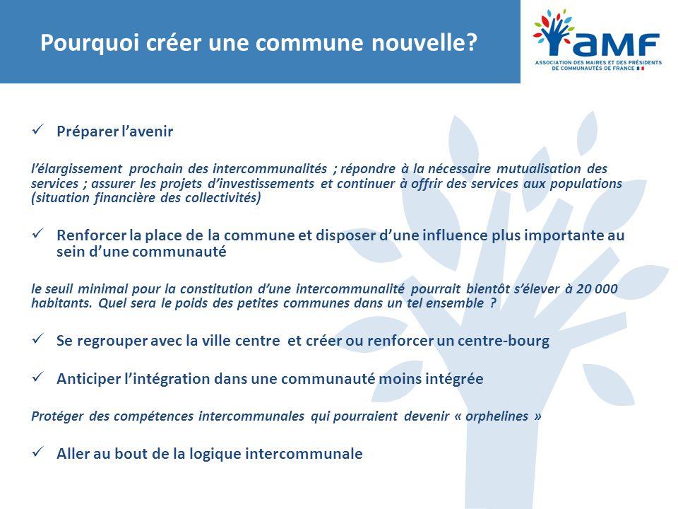 Préparer l'avenir l'élargissement prochain des intercommunalités ; répondre à la nécessaire mutualisation des services ; assurer les projets d'investi