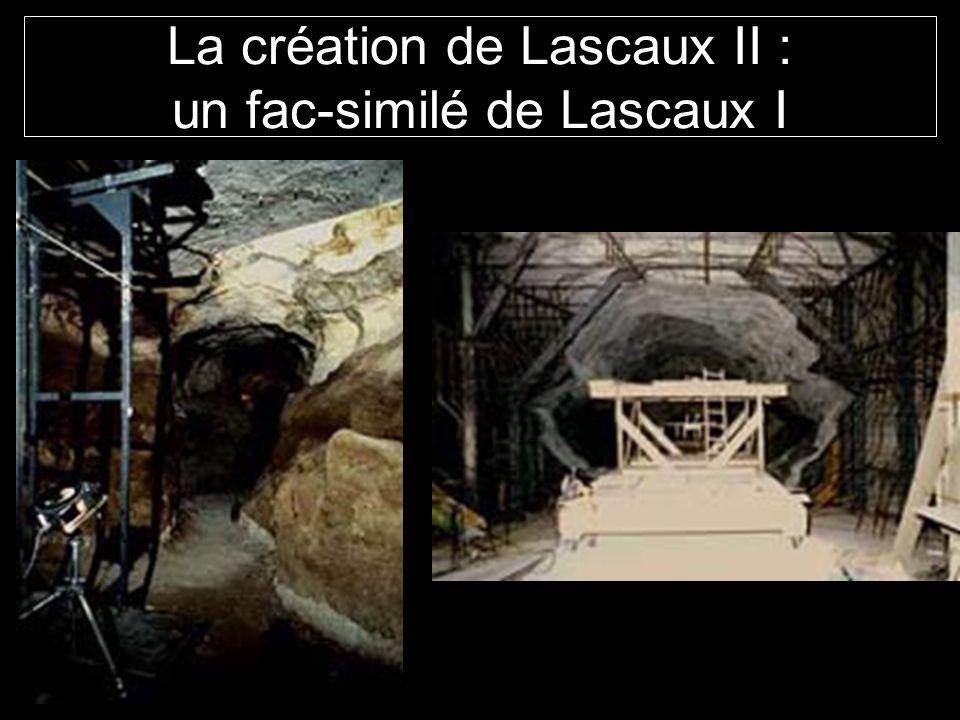 La création de Lascaux II : un fac-similé de Lascaux I