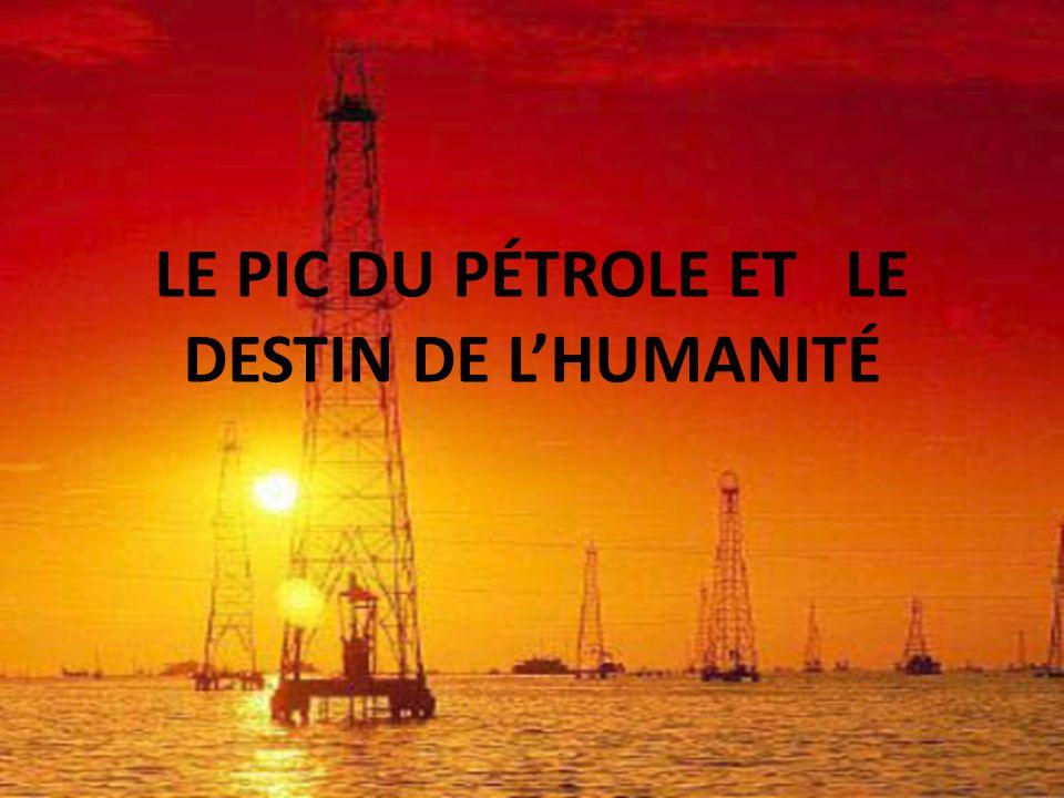 La France et le monde, sont aujourd'hui placés devant cette triple responsabilité : décrire la vérité de la déplétion prochaine des hydrocarbures, élaborer une société de la sobriété, se mobiliser pour mobiliser l'ensemble de la population.