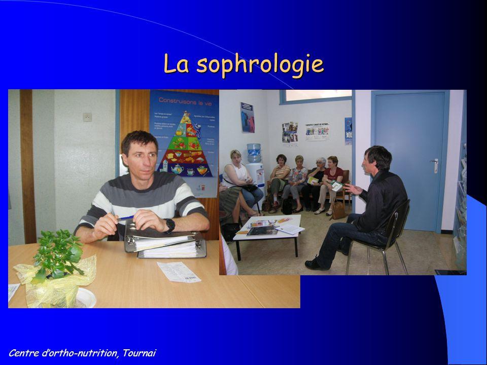 Centre d'ortho-nutrition, Tournai La sophrologie