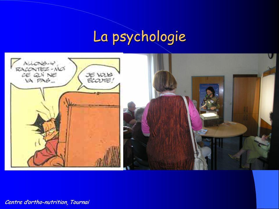 Centre d'ortho-nutrition, Tournai La psychologie