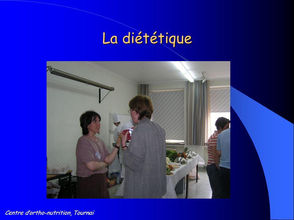 Centre d'ortho-nutrition, Tournai La diététique