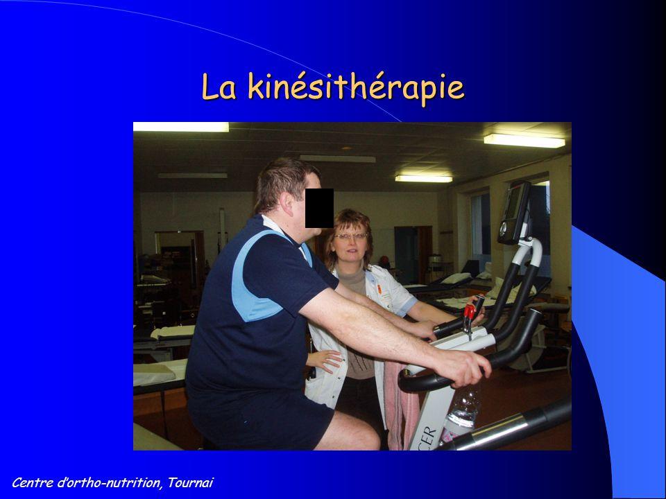Centre d'ortho-nutrition, Tournai La kinésithérapie