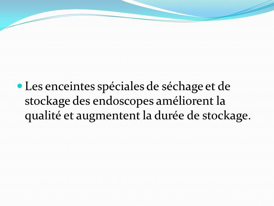 Les enceintes spéciales de séchage et de stockage des endoscopes améliorent la qualité et augmentent la durée de stockage.