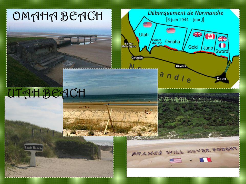 UTAH BEACH OMAHA BEACH