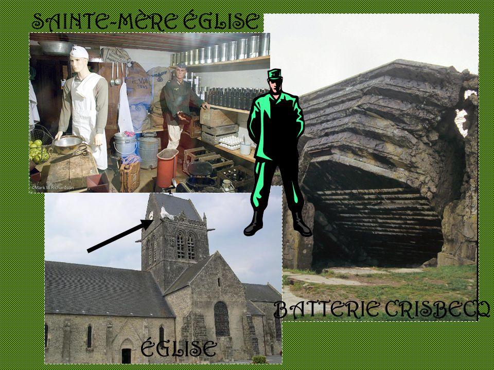 BATTERIE CRISBECQ SAINTE-MÈRE ÉGLISE ÉGLISE