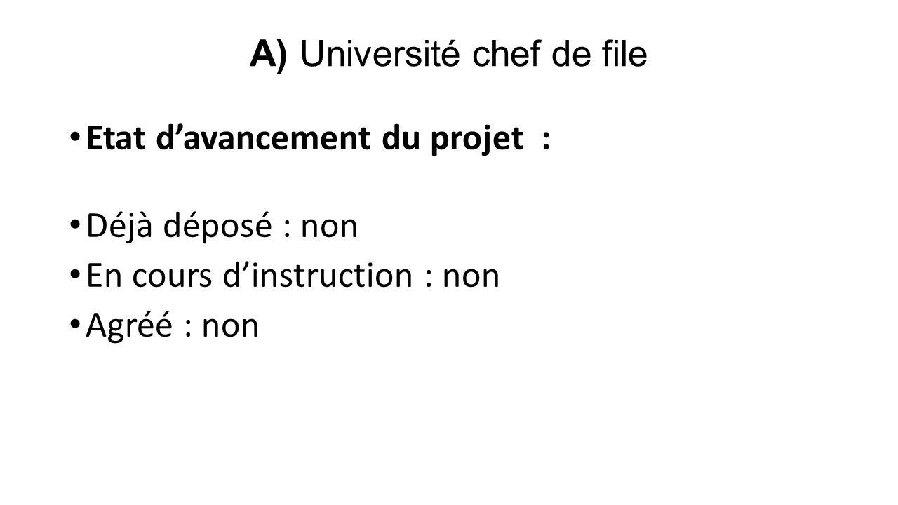 Difficultés rencontrées : Le dépôt d'un projet ERASMUS 2013 est une question en compétence de l'administration de l'université qui a changé trois fois lors du déroulement du projet.