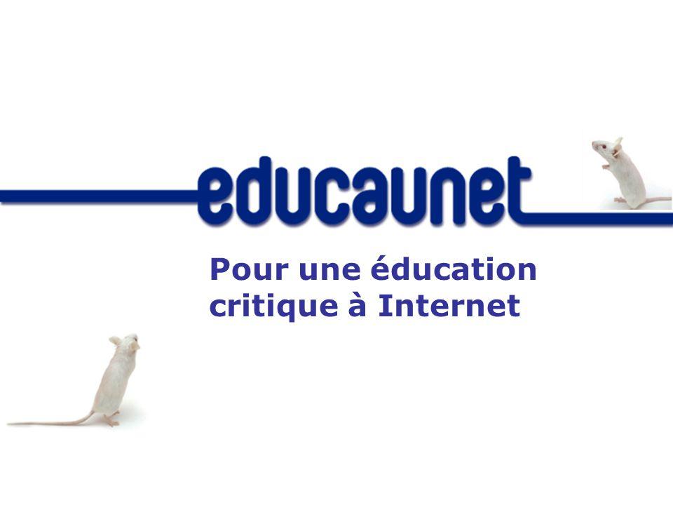 Pour une éducation critique à Internet