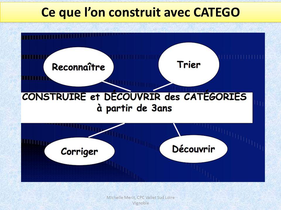 Michelle Merit, CPC Vallet Sud Loire Vignoble La catégorie la plus longue Comprendre ce que l'on sait réussir