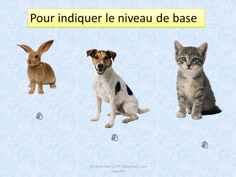 Des stratégies pour aider l'enfant à déterminer le niveau hiérarchique d'un mot nouveau Michelle Merit, CPC Vallet Sud Loire Vignoble