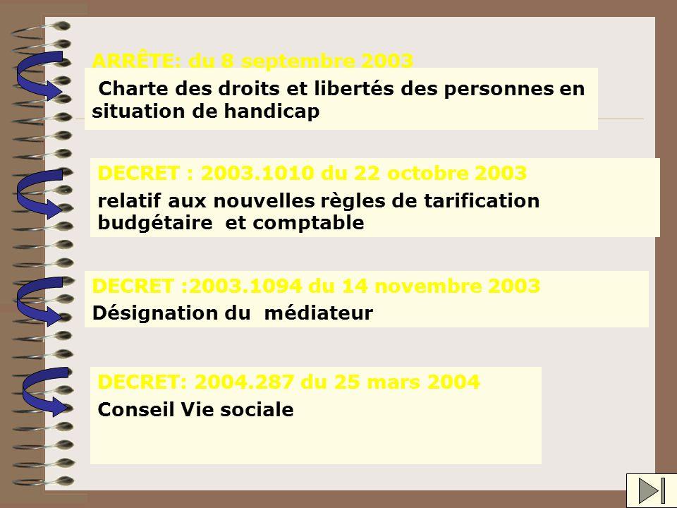 Livret d 'accueil Règlement de fonctionnement Conseil de la vie sociale Évaluation Projet de Service Responsabilité civile et pénale Contrat de séjour