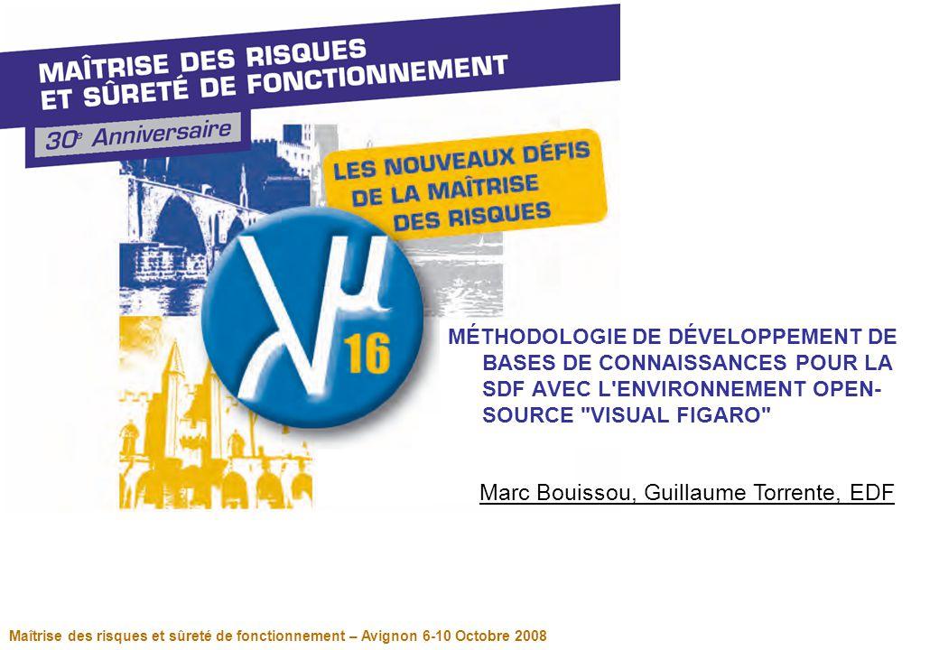 Page 2 Maîtrise des risques et sûreté de fonctionnement – communications interactives- Avignon 6-10 Octobre 2008 Management de bases de connaissances KB3 est un outil d'analyse de systèmes développé par EDF.