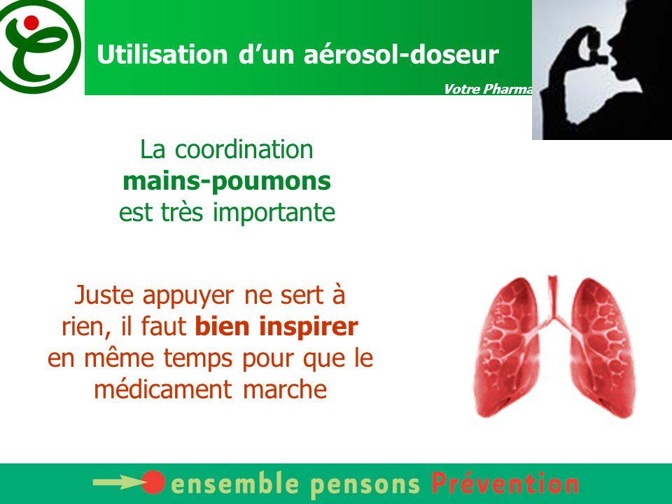 Votre Pharmacien vous conseille Aérosols : 4 types de générateurs NébuliseursAérosols doseursInhalateurs de poudreChambre d'inhalation
