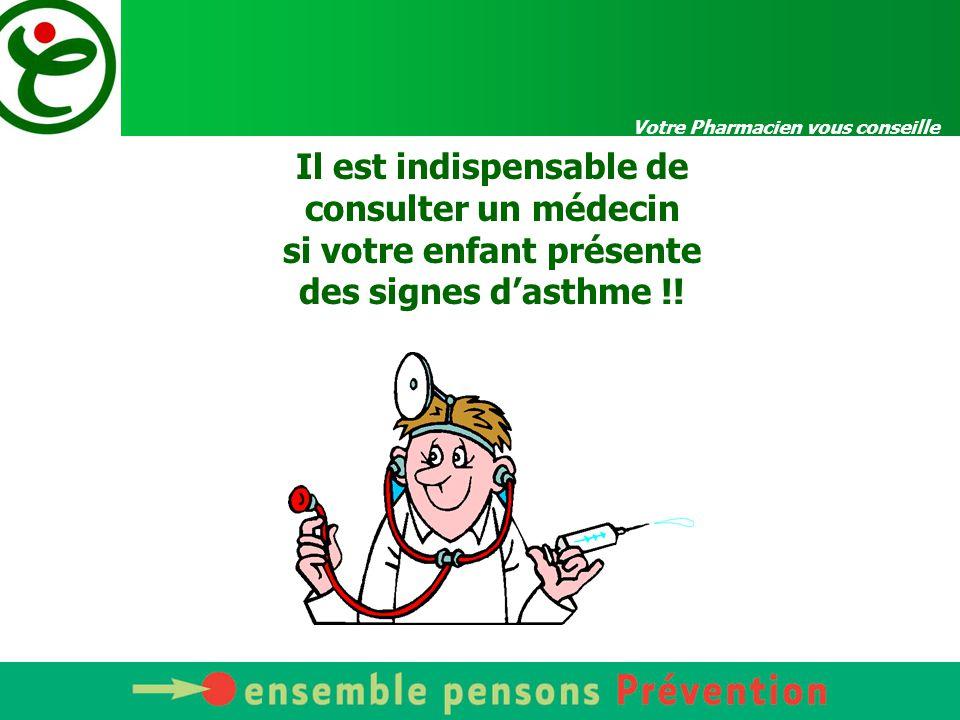 Votre Pharmacien vous conseille Une maladie qui tue 3 millions de Français sont touchés, dont 1/3 d enfants Maladie en progression depuis une vingtaine d années 2000 décès par an