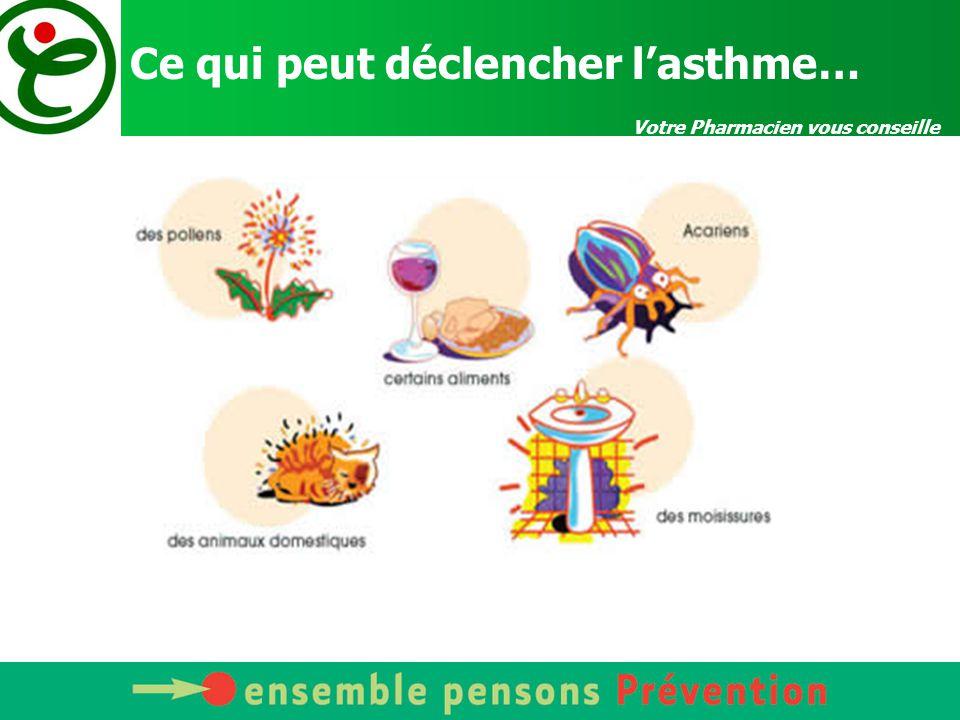 Votre Pharmacien vous conseille Respectez votre traitement et mesurez régulièrement votre débit respiratoire 1