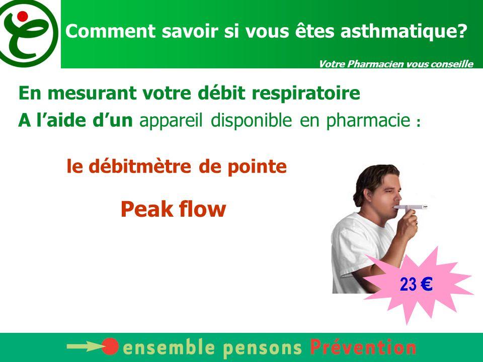 Votre Pharmacien vous conseille Comment savoir si vous êtes asthmatique.