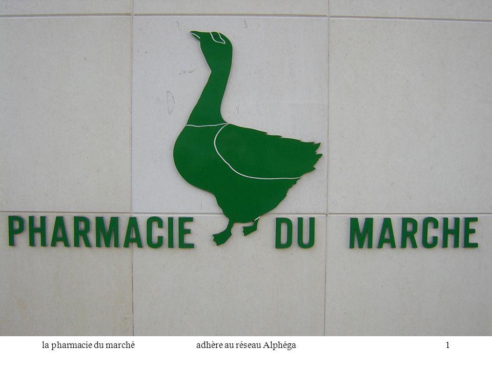 la pharmacie du marchéadhère au réseau Alphéga1