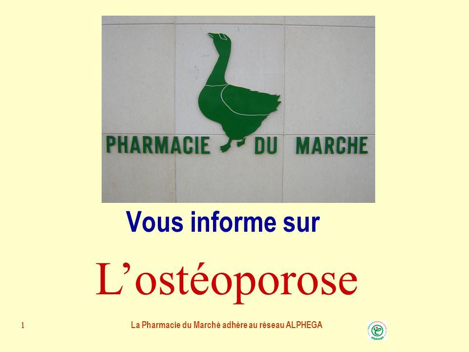 La Pharmacie du Marché adhère au réseau ALPHEGA11