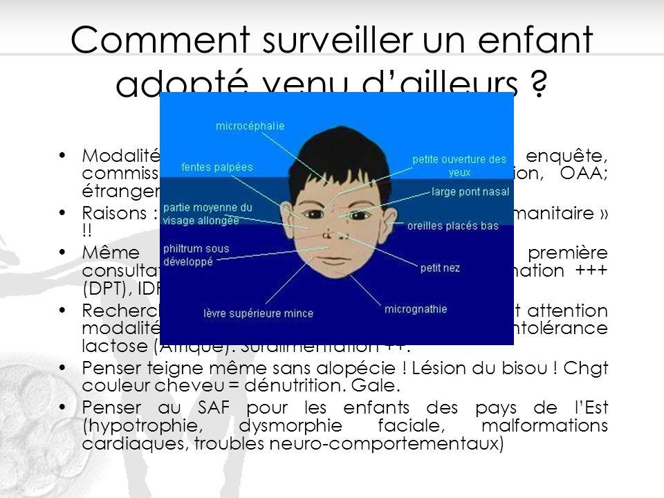 Comment surveiller un enfant adopté venu d'ailleurs ? Modalités d'adoption (agrément, PCG, info, enquête, commission, décision). France : pupille nati