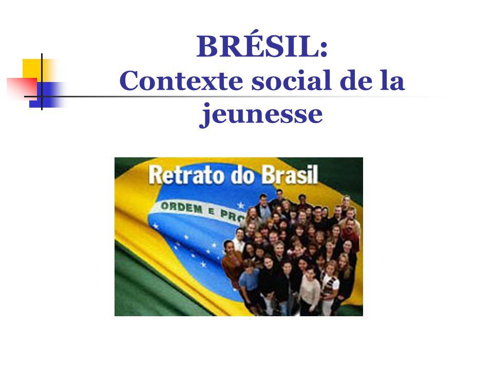 BRÉSIL: Contexte social de la jeunesse