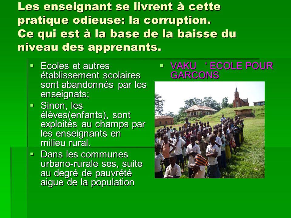 CONCLUSION  Vos materiels indispensables sont indispensables pour la communauté rurale de la province du BAS CONGO qui ont la mission de nourrir la capitale KINSHASA;  Ils nous aiderons à réaliser des champs, mais de manière raisonnables puisque les dimensions environnementales seront prises en compte.