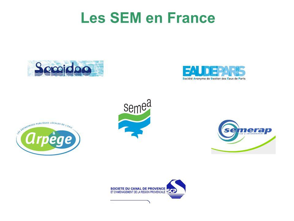Les SEM en France