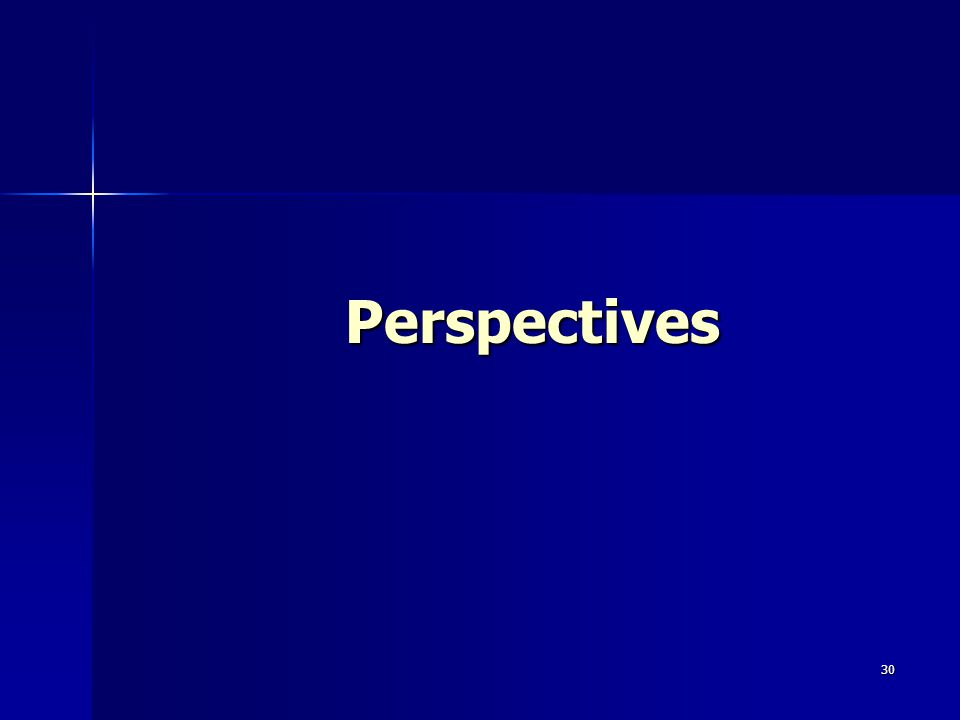 30 Perspectives