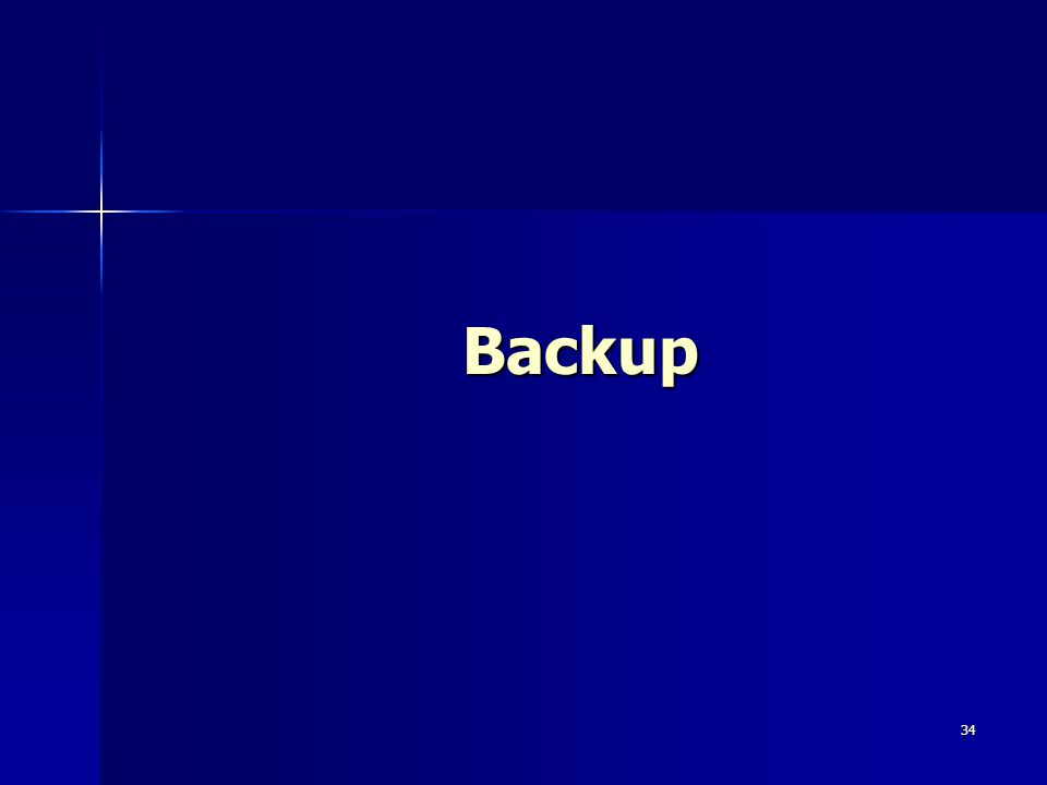 34 Backup
