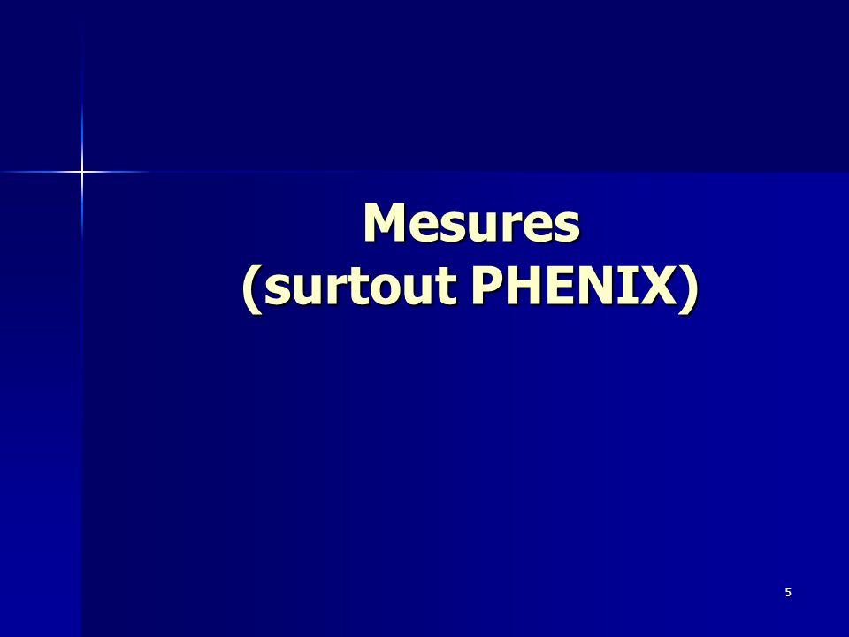 19 Septembre 200716 Collisions p+p: référence [1/2] Run 2005 p+p √s=200GeV : Phys.