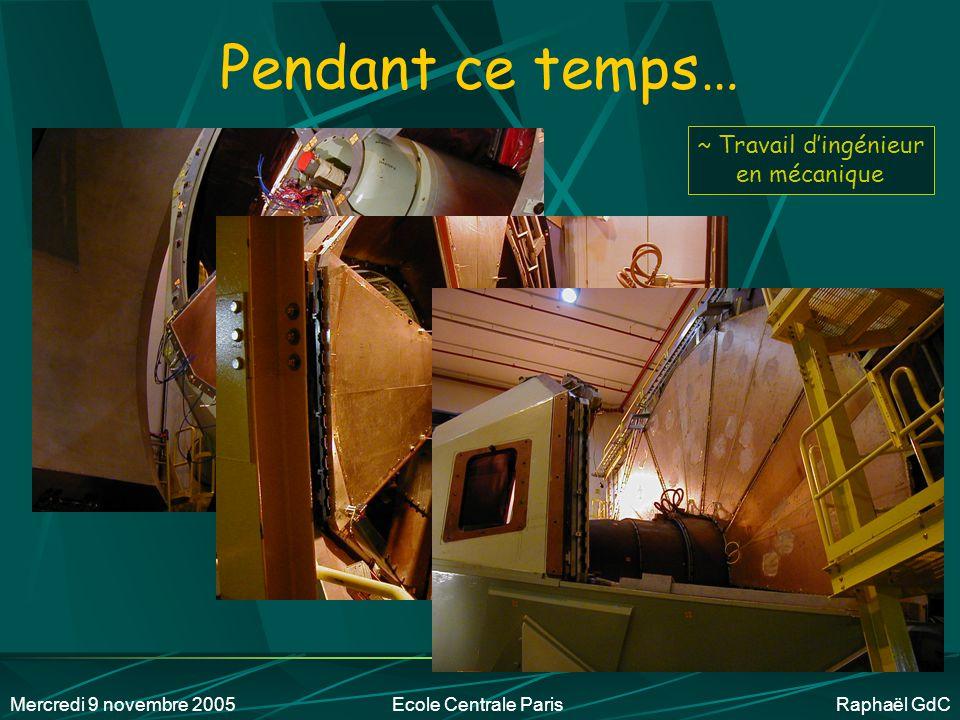Mercredi 9 novembre 2005Ecole Centrale Paris Raphaël GdC Dans les journaux… Avril 2002