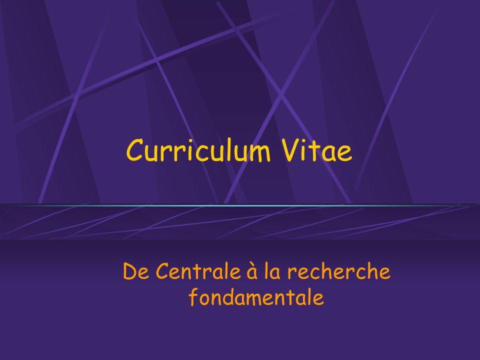 Mercredi 9 novembre 2005Ecole Centrale Paris Raphaël GdC Les avantages du métier… Variété .