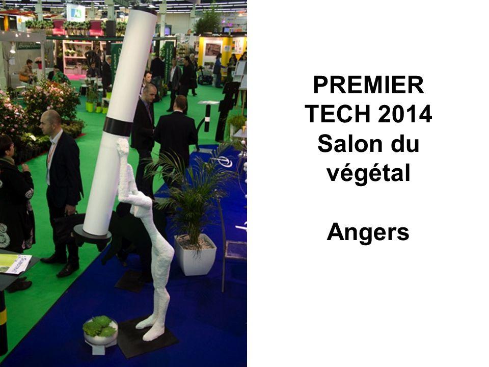 PREMIER TECH 2014 Salon du végétal Angers