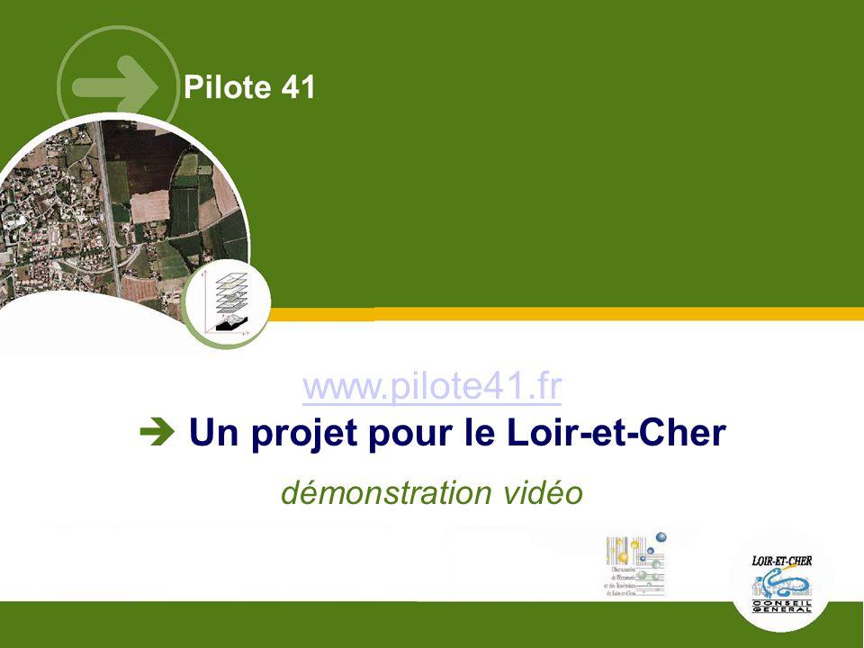 Rencontres SIG La Lettre – ENSG – 12 mai 2009Observatoire de l'économie et des territoires de Loir-et-Cher – C. Lefert www.pilote41.fr www.pilote41.fr