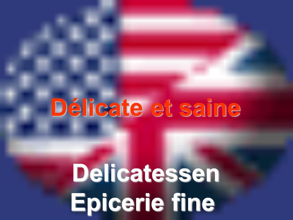 Délicate et saine Delicatessen Epicerie fine