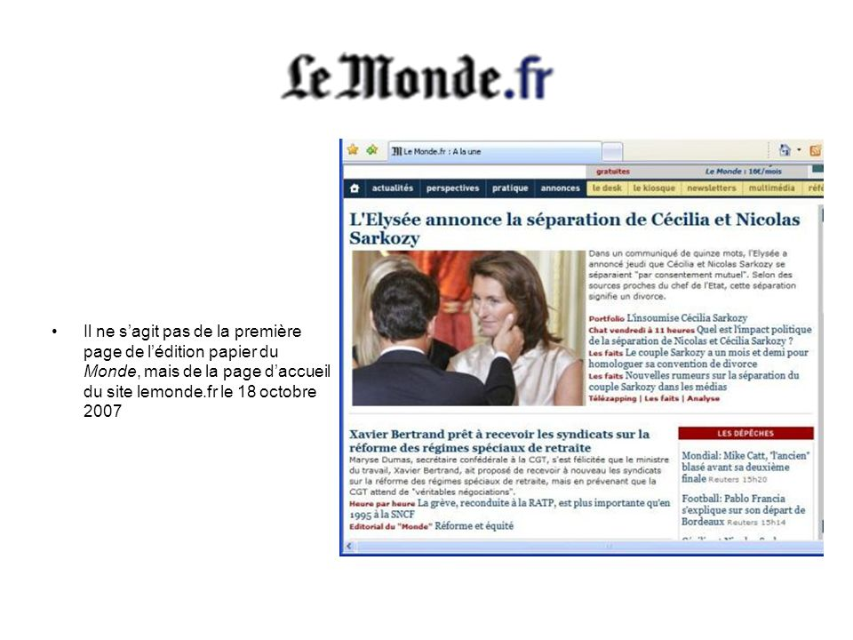 La Dépêche du Midi est un quotidien du sud de la France.