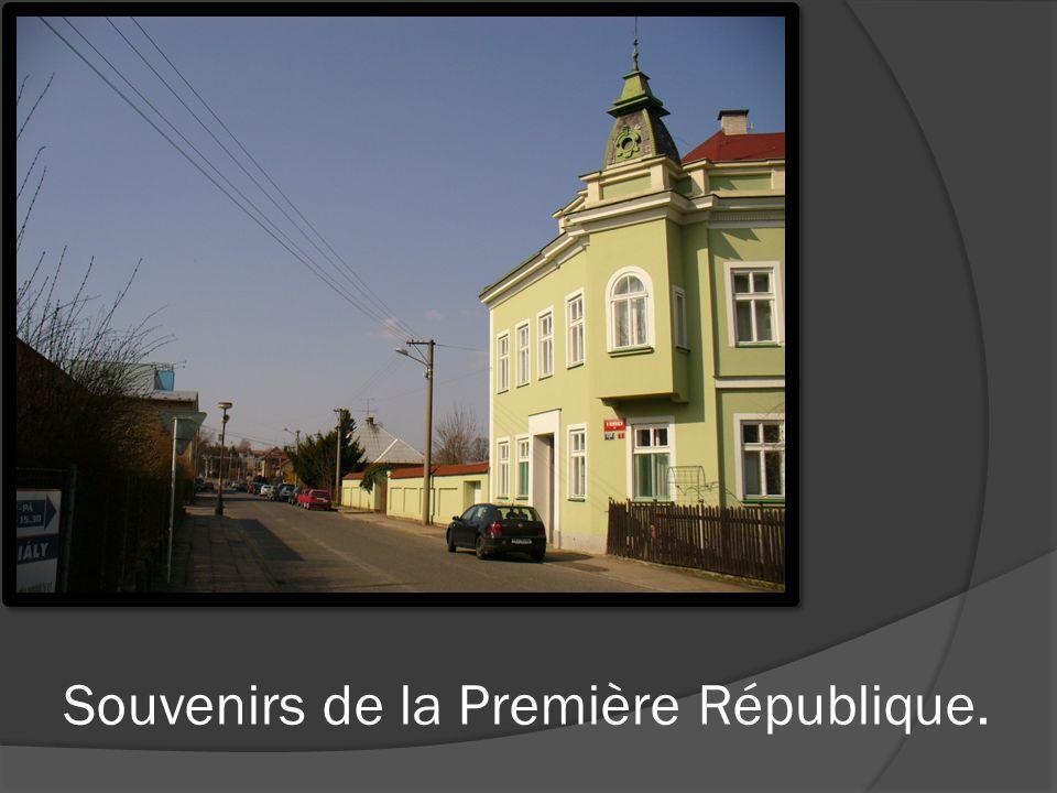 Une ville tchèque a son centre d information dans le bâtiment historique de la mairie.