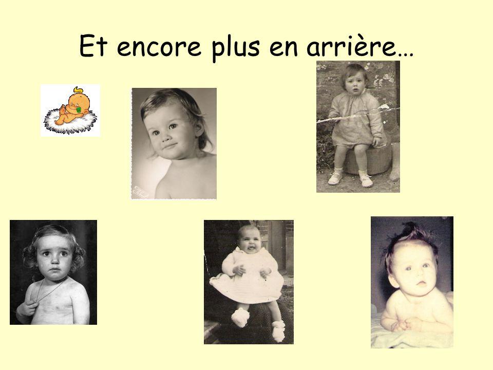 Et, quelques années en arrière….