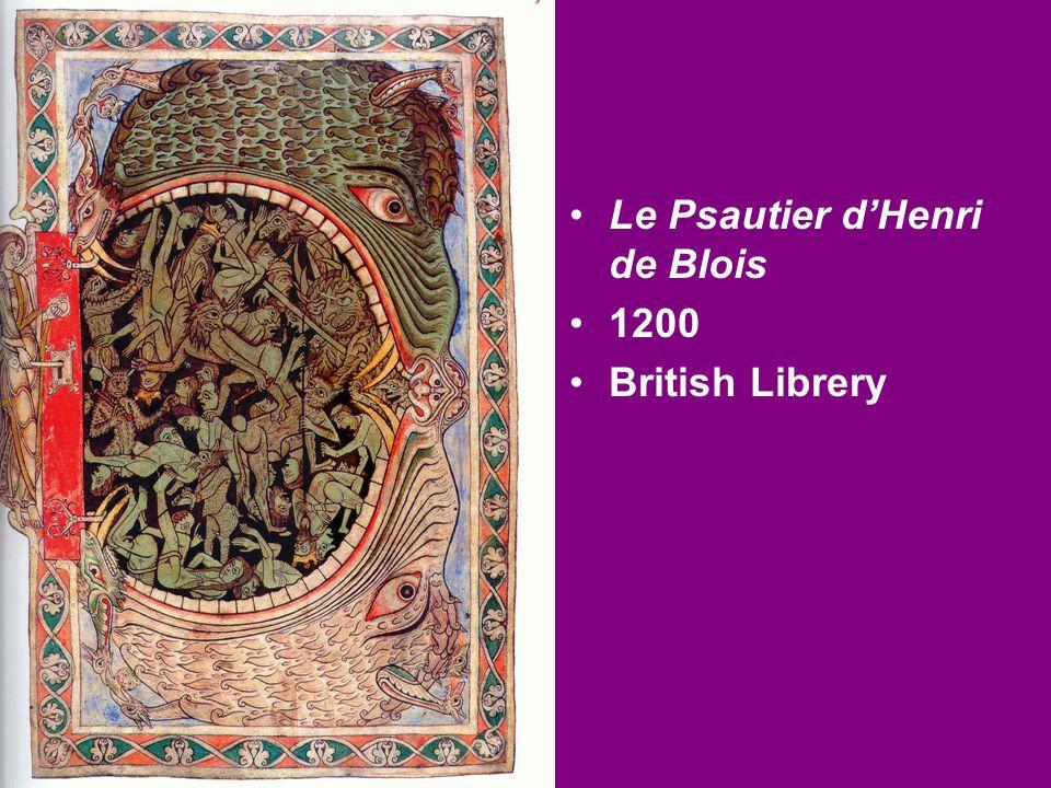 Le Psautier d'Henri de Blois 1200 British Librery