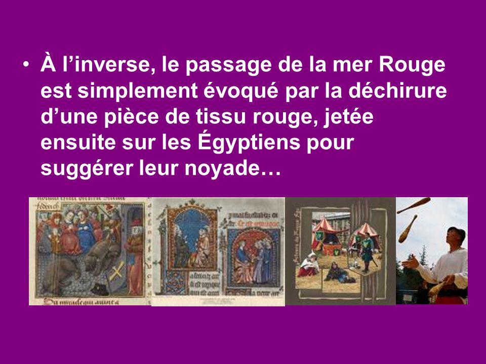 Arnoul Gréban Le Mystère de la Passion,Le Mystère de la Passion, représenté pour la première fois à Paris, vers 1450,représenté pour la première fois à Paris, vers 1450, le plus célèbre du genre.le plus célèbre du genre.
