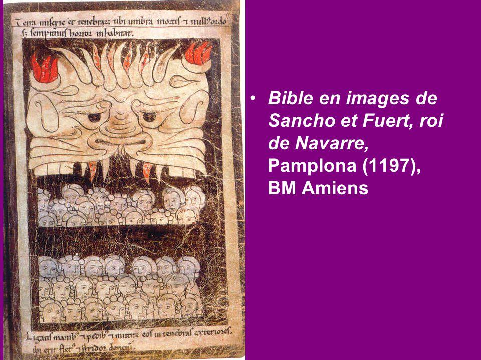 Bible en images de Sancho et Fuert, roi de Navarre, Pamplona (1197), BM Amiens