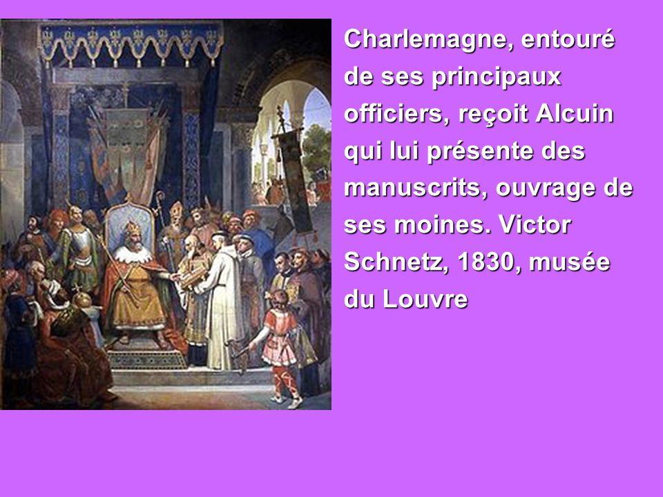 un traité des vices, des vers, adressés à Charlemagne, une exhortation (paraenensis) aux évêques, une autre aux prêtres, une autre aux juges, où il raconte le voyage qu il fit en 798 comme Missus dominicus dans les deux Narbonnaises.